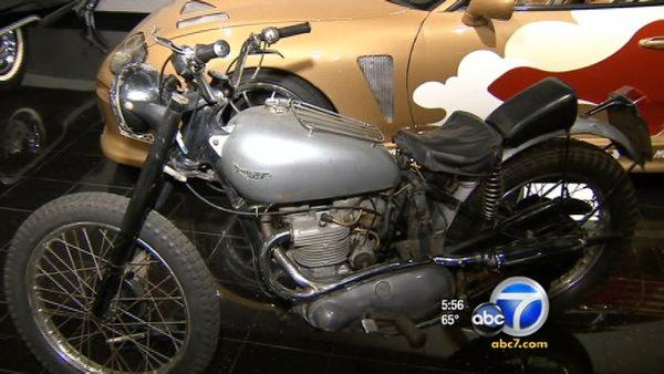 Fonzie's Triumph motorcycle up for auction