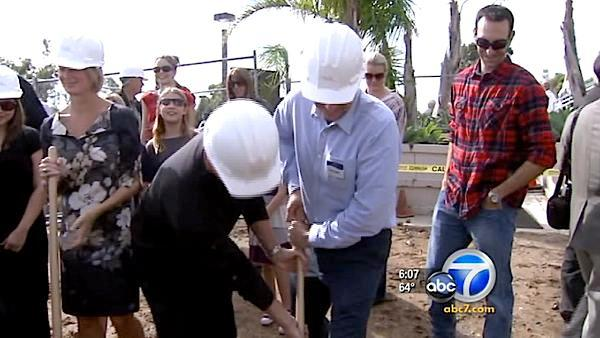 Malibu church breaks ground on new sanctuary after fire