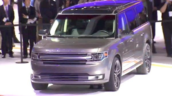 The Ford Flex is one of the models at the Los Angeles Auto Show. It runs Nov. 18 - 27 at the L.A. Convention Center.