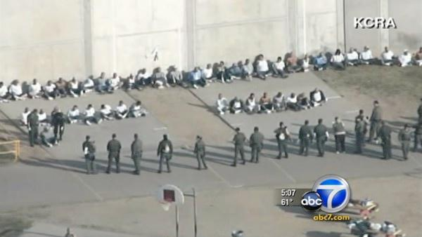 Folsom Prison riot leaves 9 inmates injured