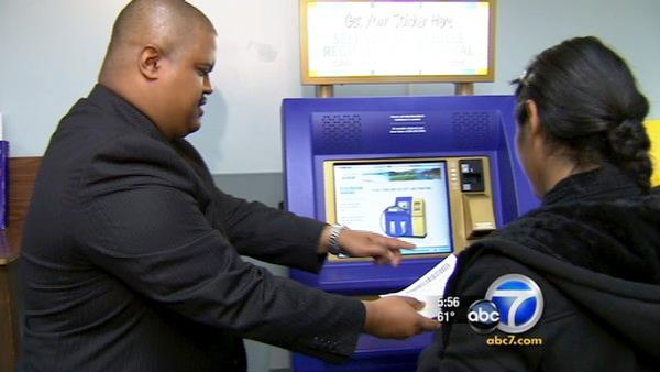 Pasadena DMV, 32 others, feature kiosks