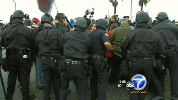 Occupy Port protesters ousted, 1 man arrested