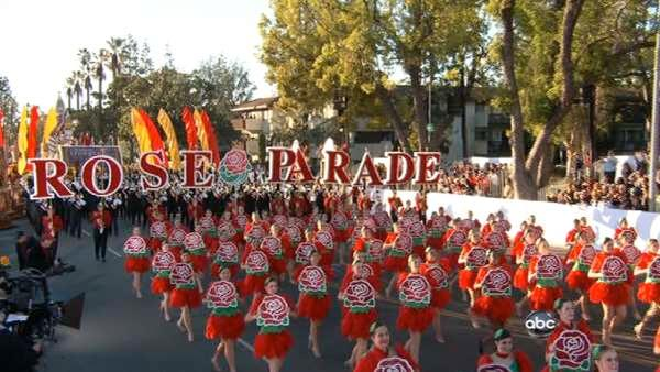 The 123rd annual Rose Parade, themed 'Just Imagine...,' kicked off in style in Pasadena Jan. 2, 2012.