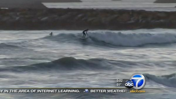 Beachgoers warned about huge waves