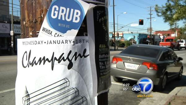Strict poster ban frustrating LA residents