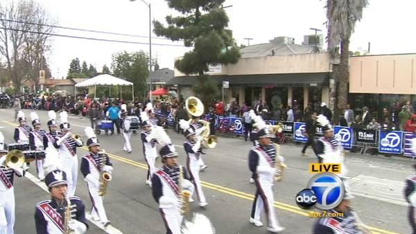 Garfield High Band performs at Kingdom Parade