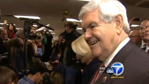 Newt Gingrich wins South Carolina GOP primary