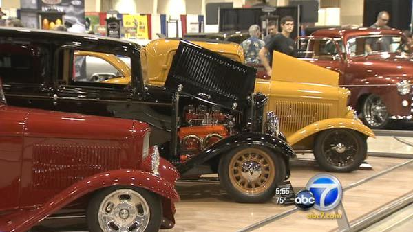 Grand National Roadster show opens in Pomona