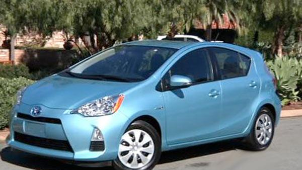 Prius c is smaller with greater fuel economy