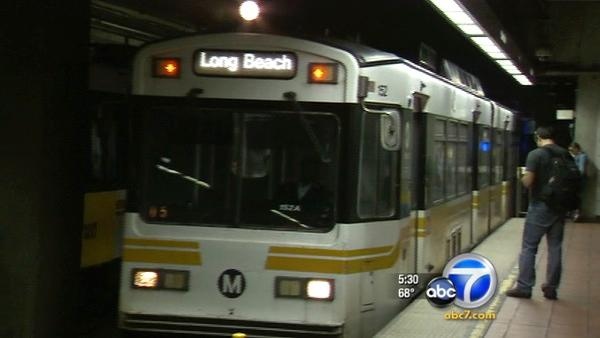 Crews work to get Blue Line running by morning