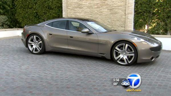 Fisker Karma is electric luxury car w/ style