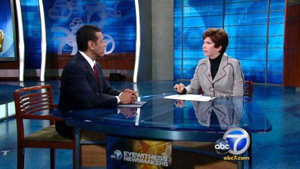 Newsmakers: Villaraigosa talks Oscars (Pt.1)