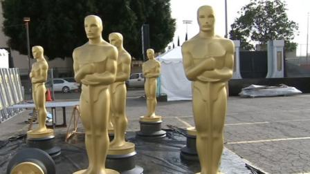Giant Oscars statues appear in this undated file photo.