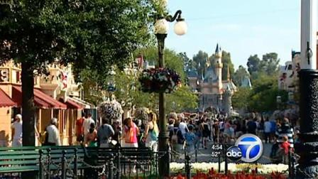 Disneyland is seen in this undated file photo.