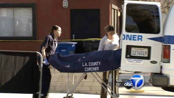 Woman found dead inside car on Burbank street