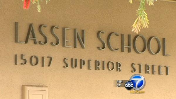 LAUSD teacher removed from Lassen Elementary