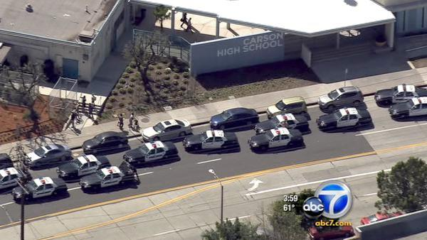 Students hospitalized in Carson High brawl