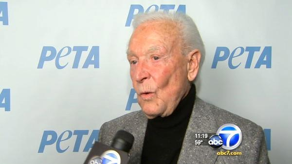PETA names West Coast hub after Bob Barker