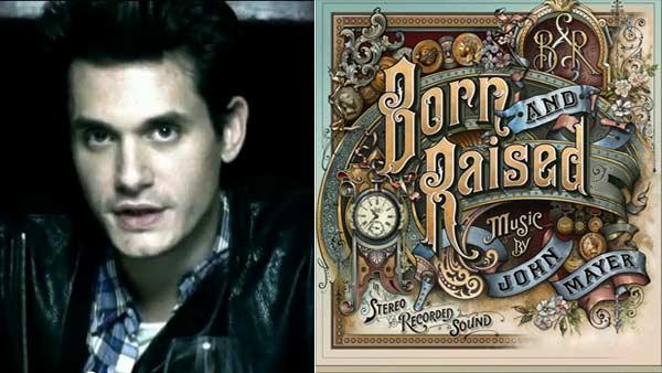 John Mayer appears in the video for his song Who Says off of his 2009 album Battle Studies. / A photo of the Born and Raised cover from his official blog. - Provided courtesy of Sony Music Entertainment / johnmayer.com
