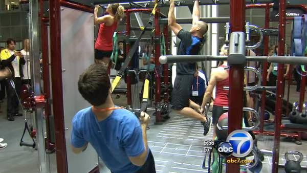 Health, fitness, gym convention held in LA