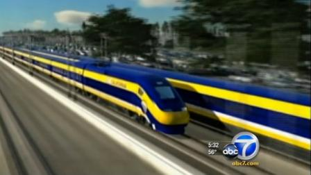 Critics of Californias high-speed rail proposal are trying to get an initiative on the November ballot.