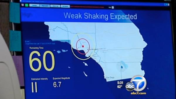 Calif. quake warning system presents problems