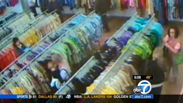 Riverside lottery scam suspects seen on video