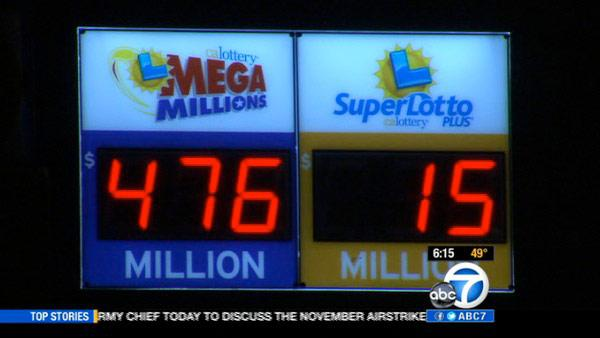 Mega Millions reaches $476M after no winner