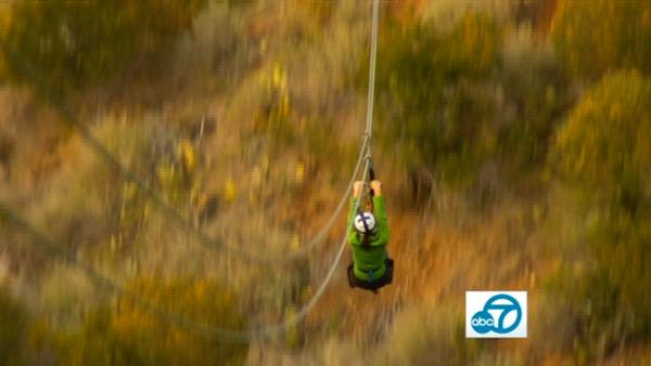 If blasting in the air hundreds of feet above ground at 45 miles per hour is your thing, Catalina Zip Line Eco Tour is the place for you.