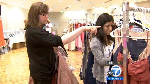 Prom Dress Project makes teens' dreams come true
