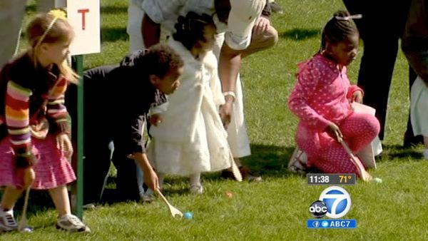 White House hosts 134th Easter Egg Roll