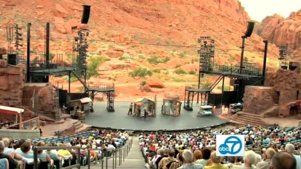 Amid Utah's towering red sandstone cliffs is an unbelievable, natural amphitheater.