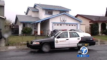 The home where an 11-year-old Palmdale boy was attacked by a pitt bull is seen in  this file photo.