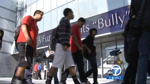 Thousands of LAUSD students watch 'Bully'