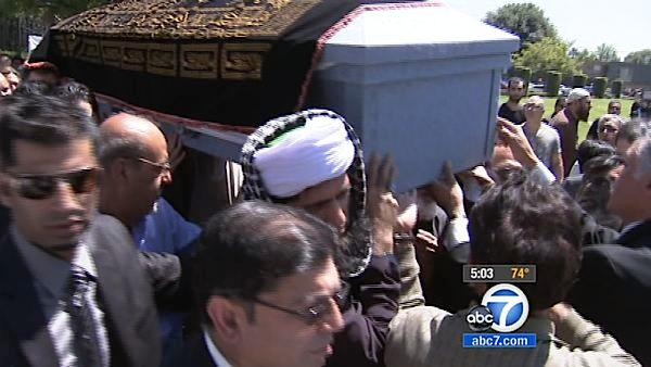 Funeral held for man fatally shot on 101 Fwy