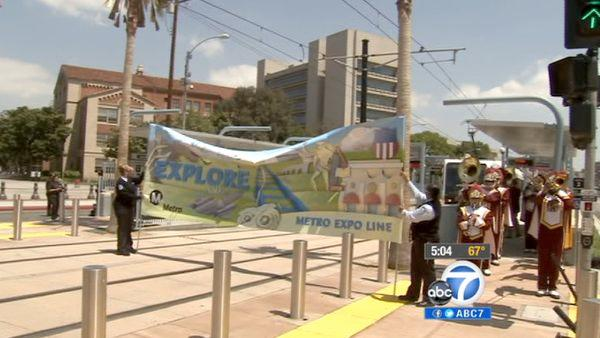 Metro Expo line to open for free this weekend