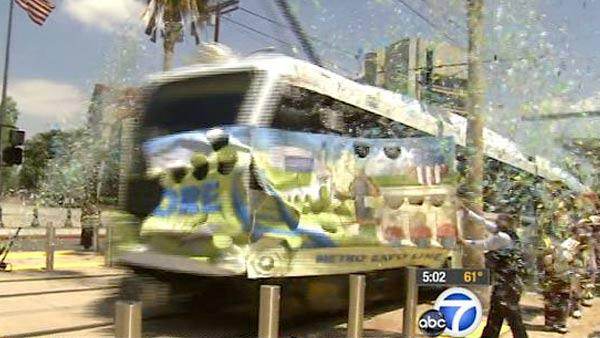 Metro Expo Line officially opens for business