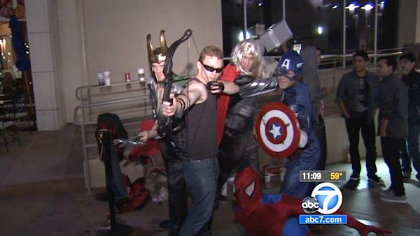 'Avengers' looks to rule weekend box office