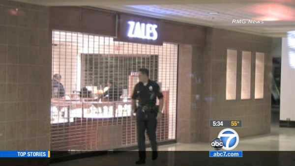 West LA Zales robbed of $130K in jewelry