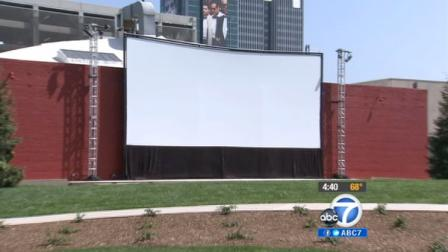 The Academy announced Monday it is opening an outdoor theater in Hollywood for tourists and locals to enjoy this summer.