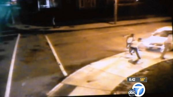 Dramatic New York hit-run caught on tape