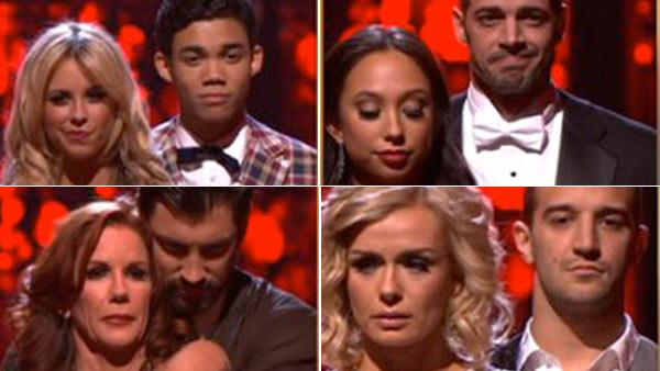 'DWTS' elimination night: 2 couples go home