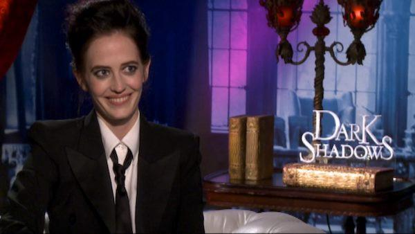 Eva Green talks being in Tim Burton 'sex scene,' her quirky role