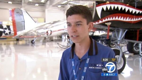 Cool Kid shares love of all things aviation