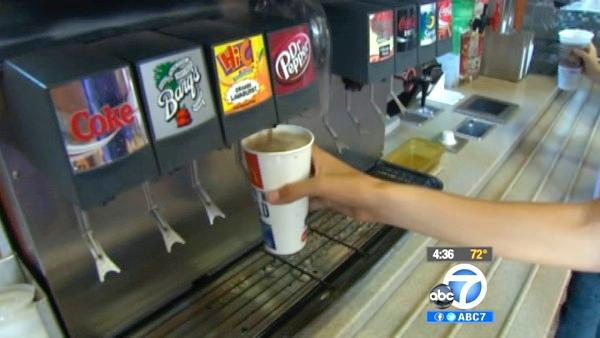 Oversized sugary drinks may be banned in NYC