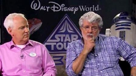 Legendary filmmaker George Lucas (right) is seen in this undated file photo.