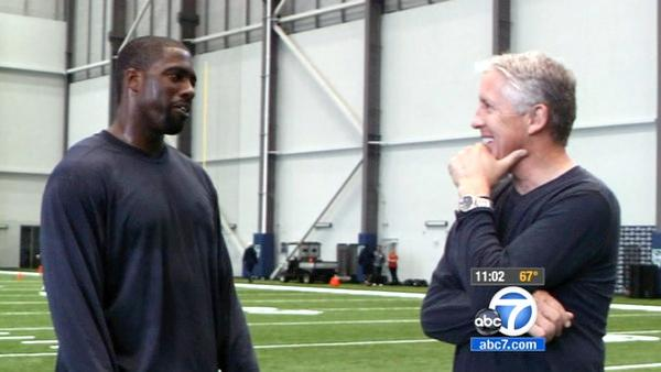 Brian Banks gets workout with Seattle Seahawks