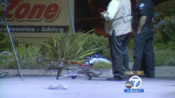 Bicyclist killed in North Hills hit-run crash