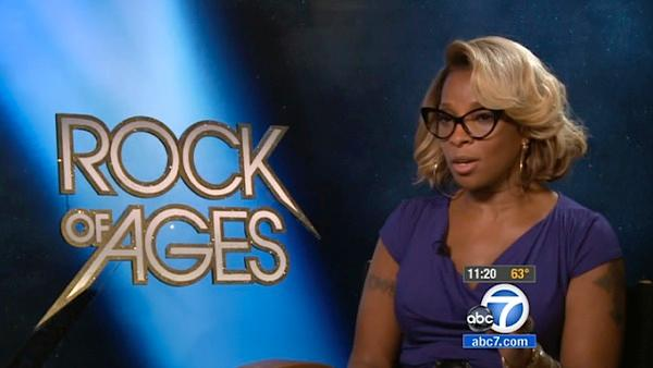 Mary J. Blige rocks out in 'Rock of Ages'