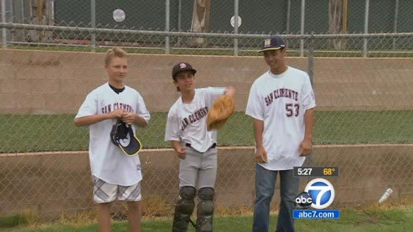 Teens coach Little League team to championship